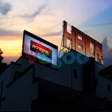 Cabina de la visualización de LED de la publicidad al aire libre P4 para la pared del vídeo del LED