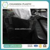 作動したカーボンのための黒いFIBCのジャンボ容器の大きい袋