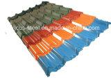 Цветастый застекленный лист крыши металла/водоустойчивая панель крыши цвета