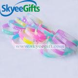 Wristbands resi personali promozionali poco costosi del silicone