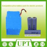 36V 42V Pak van de Batterij van het 4.4ah het Li-IonenLithium 10s2p Ionen voor Elektrische Autoped
