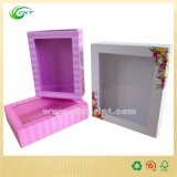 Косметическая бумажная коробка с пластичным окном (CKT-PB-108)