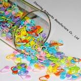 Spille di sicurezza di plastica decorative variopinte sveglie della modifica di caduta del commercio all'ingrosso 22mm