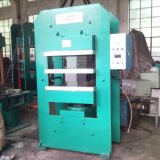 Máquina de goma del vulcanizador de la hoja de la máquina caliente de la prensa
