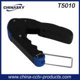 Cctv-Komprimierung-Hilfsmittel für Rg59/RG6 F Verbinder (T5010)