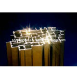 Perfil del marco de ventana de aluminio/de aluminio