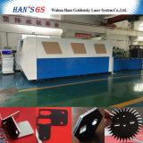 tagliatrice del laser della fibra del piatto del acciaio al carbonio dell'acciaio inossidabile 1000W da vendere