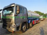HOWO T5g 8X4 판매를 위한 알루미늄 석유 탱크 트럭