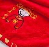 Полотенца ванны любовника для полотенец подарка Weeding, картины 100% вышивки хлопка