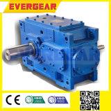Hb-rechtwinkliger abgeschrägter Metallgummireifen-Plastikreißwolf-Getriebe