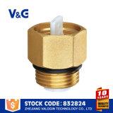 Válvula de cobre amarillo automática barata de la salida de aire de la mejor calidad de alta tecnología