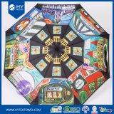 Ombrello di Sun su ordinazione reso personale del regalo di disegno di arte