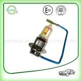 lâmpada da névoa do farol H3 do carro do halogênio 4800k