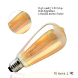 1800k 2200k 2700k E26 E27 Dimmable LED Filament Ampoule Edison Bulle St64 2W 4W 6W 60W 120V 230V / St64 230V 60W