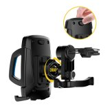 """Handy-Fahrrad-Halter für iPhone 3.5 """" - 7 """", Samsung, Motorola und mehr Einheiten (Marine Blue+Black)"""