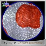 Impermeable PVC Garland Snowflake 3D bola de luz de la Navidad