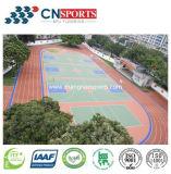 De openlucht Vloer van de Gymnastiek, Bevloering van het Hof van de Sport Spu de Rubber Elastische