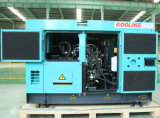 Самый лучший генератор 15kVA цены и качества молчком (YD480D) (GDYD15*S)
