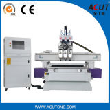 Acut-1325 Pneumatic Three Process Different Designs CNC Router