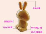 Banque colorée de puissance de carton de lapin (OM-PW023)