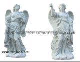 Angle Sculpture en marbre pour décoration de jardin