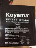 batterie d'acide de plomb de 12V 4.5ah AGM pour les lampes-torches, la pelouse et le jardin