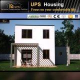 Casa prefabricada de dos pisos confeccionada de acero galvanizada caliente
