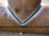 Пробка 8 осей прямоугольная и круглый автомат для резки CNC трубы