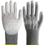 Couper le gant résistant de travail avec l'unité centrale (PD8023)