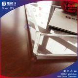 Plateau acrylique clair avec la garniture intérieure