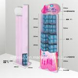 Système cosmétique crémaillère d'étalage de boutique de 5 couches