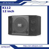 12 duim 5 de Professionele Spreker van het Systeem van de Karaoke van de Tjilpen met Goede Stem (K112 - TACT)