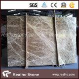 しきい値およびコラムのためのEmperadorの軽いベージュ大理石の平板