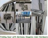 Doppelverglasung-Außeninnenraum, der die 7 Panel-Schiebetür Bi-Faltet