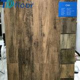 Suelo impermeable compuesto plástico de madera de madera de roble de la alta calidad WPC para 5m m 5.5m m 6m m 7m m