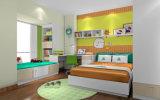 Muebles modernos del dormitorio de los cabritos de madera fijados (et-003)