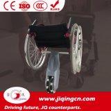 Langlebiger Aluminiumlegierung-Rahmen-elektrischer Rollstuhl mit Cer
