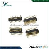 기계 둥근 Pin Herader Pitch1.27mm SMT  &#160를 타자를 치십시오; H2.1mm 연결관