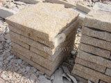 Pietra gialla del ciottolo del granito per la costruzione di strade