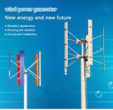 sistema vertical de la turbina de viento del hogar del generador de viento 600W-20kw y Sistema Solar para el hogar