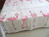 De roze Reeks van het Beddegoed van het Borduurwerk van Flamingo's