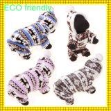 El precio de fábrica para la ropa del perro de la venta al por mayor del invierno, ropa del animal doméstico, perro arropa (gc-d005)