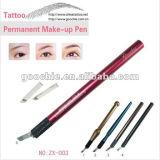 De permanente Pen van de Tatoegering van de Make-up Roestvrije Materiële Hand