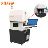La machine de gravure de laser de fibre en métal avec protègent le cas