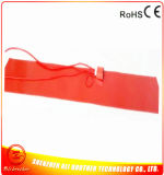 Aquecimento de dobra lateral do violino/violoncelo/guitarra/calefator flexível do silicone cobertor térmico