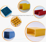NonstainingおよびEnvironmenmtalのガラス繊維のPultrudedのプロフィール、FRPチャネル、FRPの格子