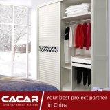 Böhmen-moderne Schlafzimmer-Möbel-weiße hölzerne Garderobe mit Spiegel (CA01-01)