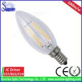 Neues heißes E14 2W LED Heizfaden-Birnen-Licht
