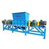 Plástico/pneu/pneumático/desperdício contínuo usado/Shredder médico do cilindro de Waste/HDPE/HDPE com alta qualidade