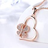 نمو مجوهرات فتنة نفل قلب عقد [رهينستون] مدلّاة عقد
